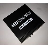 Buy cheap HDMI to VGA + L/R Audio Converters product