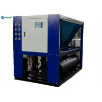 Quality High Efficient 40hp (-5C) Glycol Water System Milk Air Cooled Water Chiller for sale