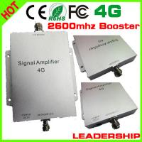 Quality Newest 65dB Mobile Signal Booster Repeater 4G booster 4G amplifier 2600MHZ Cell Phone Ampl for sale