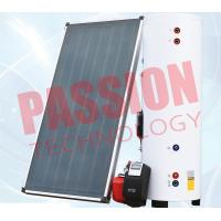 Buy Natural Circulation Split Solar Water Heater Flat Plate Copper Connection at wholesale prices