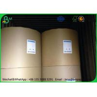 Quality Uncoated Food Grade Paper Roll 80gsm 100gsm 120gsm In Roll / Sheet Package for sale