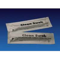 Quality Pre Saturated Long Cleaning Swabs , Big Head Large Tip Cotton Swabs for sale