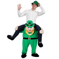Quality Carry Me Ride On Adults Shoulder Ride Costume Leprechaun Piggy Back Costume for sale