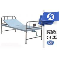 Quality Homecare Manual Hospital Bed With Drainage Bag Holders , Medicare Approved Hospital Beds for sale
