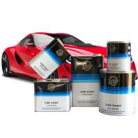 Quality High Solid Automotive Clear Coat Paint Transparent Color Quick Drying Hardener for sale