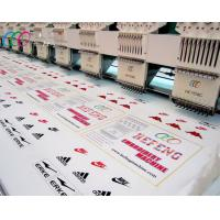 China Flat Cloth / photo Mixed 8 Head 9 Needle Embroidery Machine support French / Turkish on sale