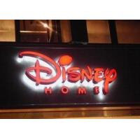 China Business LED Backlit Lighted Outdoor Business Signs 3D Letter Waterproof on sale