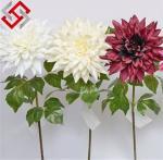 Quality Dahlia Artificial Silk Flower for Christmas Decoration for sale