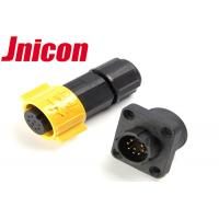 Quality Super Stable Waterproof Data Connector , Jnicon Waterproof Connector 8 Pin for sale