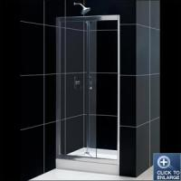 China EF23 Bi-Fold Frameless Shower Door on sale