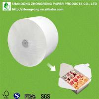 PE coated board for lunch food packaging box