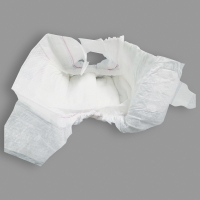 Quality High Absorption Hydrophilic Non Woven Cotton Sleepy Baby Diapers for sale
