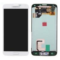 Quality For Samsung Galaxy S5 SM-G900/G900A/G900V/G900P/G900R4 LCD and Digitizer Assembly with Home Button - White - Grade A+ for sale