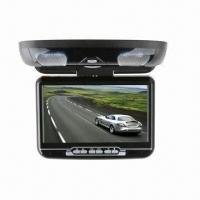 Quality 9-inch TFT LCD Screen/FM/IR Function/TV DVB-T/Multilingual Menu/Remote Control/Flip-down DVD Player for sale