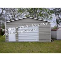 Steel rv garage with office joy studio design gallery for Metal rv garage