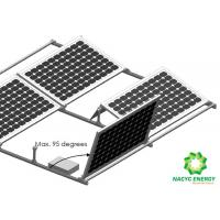 Quality 2020 Energy Solar Bracket Aluminum Structure Efficient Ballasted Free PV Mounting Brackets Pre - Assemble Design for sale