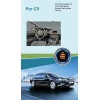 Quality Smart Key with Push Start & Remote Start System for Citroen C5 for sale