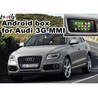 Quality Audi Q5 3G MMI video Android navigation box video interface , Car Navigation Box for sale