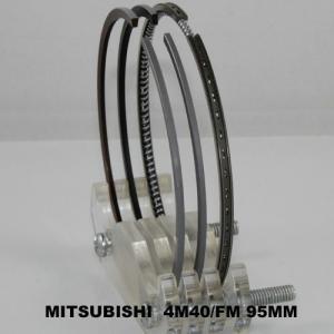 China Pajero Car Engine Piston Rings Set / Mitsubishi 4M40 Engine Parts 95mm on sale