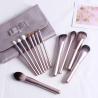 Buy cheap purple color Mini Makeup Brush Set from wholesalers