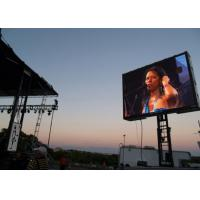 Buy cheap Soundboss Front Service outdoor Led Display screen Pitch 8mm  billboard product