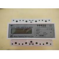Quality Three Phase Four Wires Smart Din Rail Meter with RS485 or Wifi for Monitoring the Energy for sale