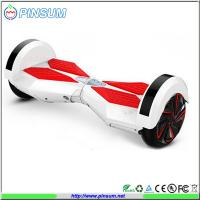 Quality New model self balance two wheels electric scooter with led light and bluetooth speaker for sale