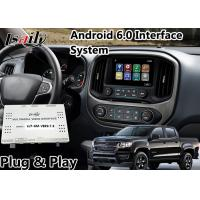 Quality Android 6.0 Auto Interface for Chevrolet Colorado Mylink System Mirror link Google Map YouTube for sale