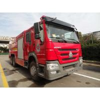 Quality HOWO 10T Fire Rescue Truck Extinguisher Emergency Rescue Dry Powder Type for sale