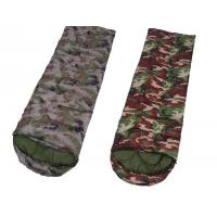 Buy cheap Camouflage Down Sleeping Bag With Pillow , Hiking Outdoor Sleeping Bags from wholesalers