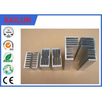 Buy cheap Customized Heat Sink Shape  Aluminum Extrusion Profiles for Electronic Enclosure product
