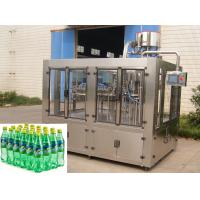 Quality Automatic Glass Bottle Sparkling Water / Soft Drink Filling Machine For PET Bottle for sale