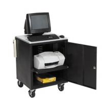Quality Medical & Office computer cart with cabinet, Portable multimedia laptop carts RCS-PR11 for sale