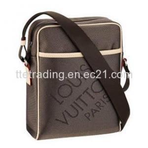 Damier Geant Canvas Message Bag for Men M93224