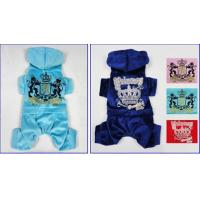 China Custom Light Blue Dog Clothes Juicy Velour Black Hoodie with Tie Strings for Maltese on sale