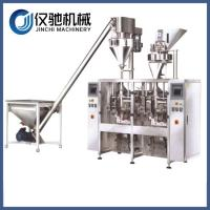 China Powder filler machine baby milk pouch packing machine on sale