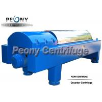 Large Capacity Decanter Centrifuges Horizontal Continuous Separation Centrifuge for sale