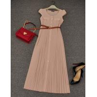 China Ladies pink long maxi dress,casual dress, fashion cocktail dress for women on sale