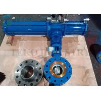 Quality Triple Offset Metal Seated Eccentric Butterfly Valve Pneumatic Operated for sale