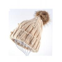 Quality Venonat Winter Knit Hats For Women , Customized Knitted Bobble Hat Original for sale