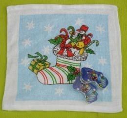 Quality Socks Design Christmas Compressed Towel (YT-681) for sale