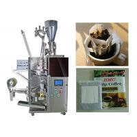 Quality Granular / Powder Drip Coffee Packing Machine With 3 Sides Seal for sale