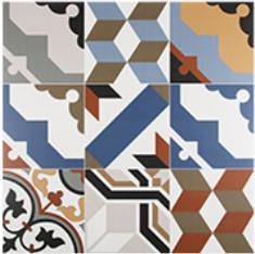 Quality Colored Non Slip 3% 60*60cm Ceramic Kitchen Floor Tile for sale