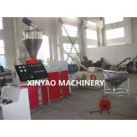 Buy cheap UPVC Double Wall Corrugated Pipe Extruder Machine (63-250mm) product