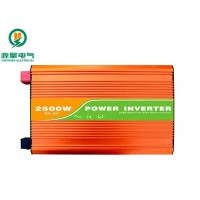 Orange Color Pure Sine Wave Power Inverter 2500W With High Frequency Transformer