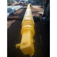 Quality Yellow Foundation Drilling Tools , Construction Friction Or Interlocking Type Kelly Bar Rotary Piling Rig Parts for sale