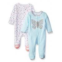 Quality 0-36month Baby Printed Rompers  Set Foot Secti for sale