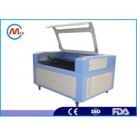 Quality Computerized Wood Laser Cutting Machine For Leather / Rubber 20 - 80 KHz for sale