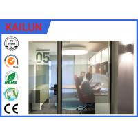 Buy cheap Silver / Black Anodized Aluminium U Channel For Office Partition System TS16949 : 2009 product