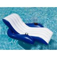 China Floating Relaxed Inflatable Water Chairs Sofa For Adults Used In Swimming Pool on sale